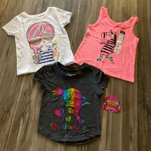 3 Tees Little Girl Clothing